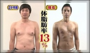 徳井 筋肉